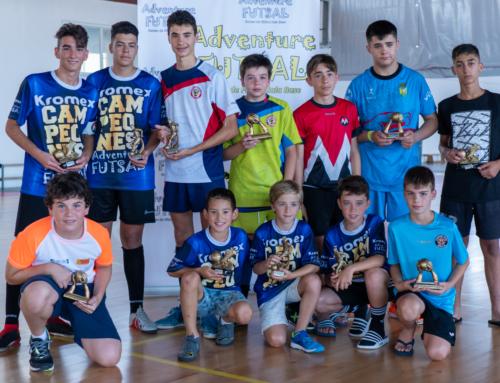 Cuadro de Honor de la IV Edición de Adventure Futsal