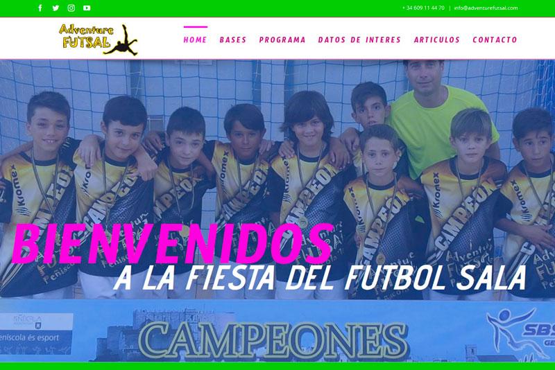 Os presentamos la web del torneo